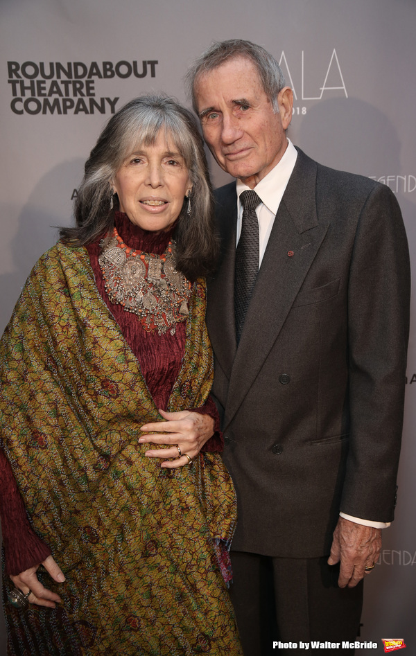 Julia Schafler and Jim Dale