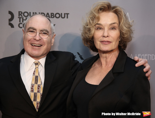 Todd Haimes and Jessica Lange