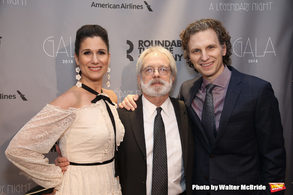 Stephanie J. Block, John Weidman and Sebastian Arcelus