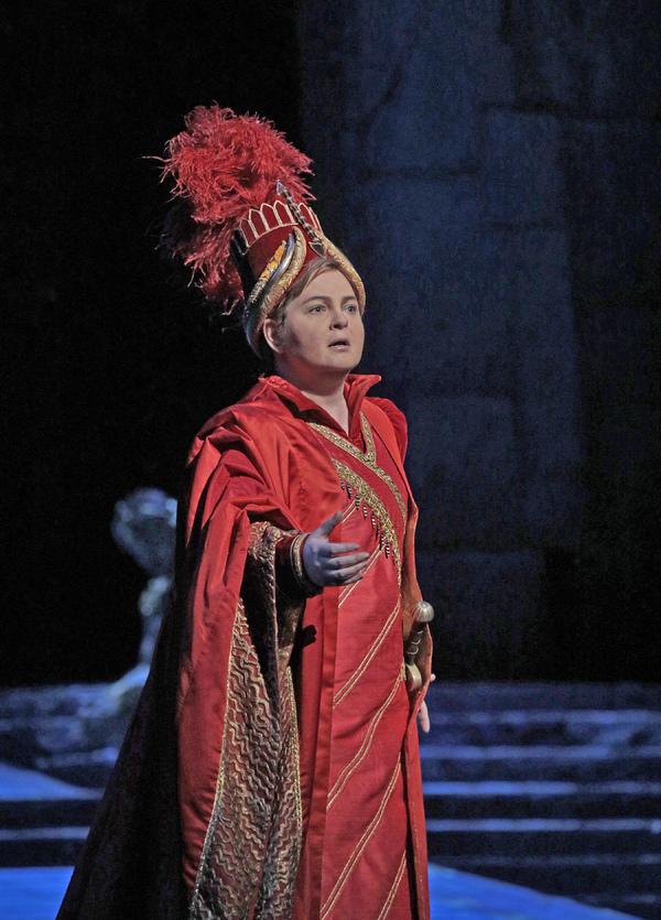 "Elizabeth DeShong as Arsace in Rossini's ""Semiramide."""