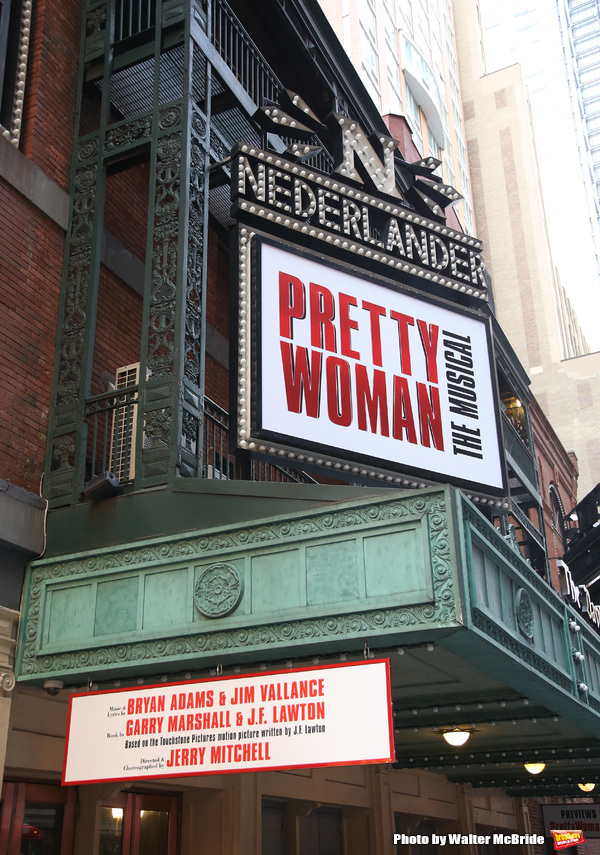 Theatre Marquee unveiling for