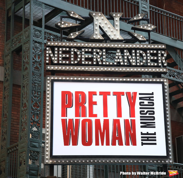 Up on the Marquee: PRETTY WOMAN Takes Over 41st Street!