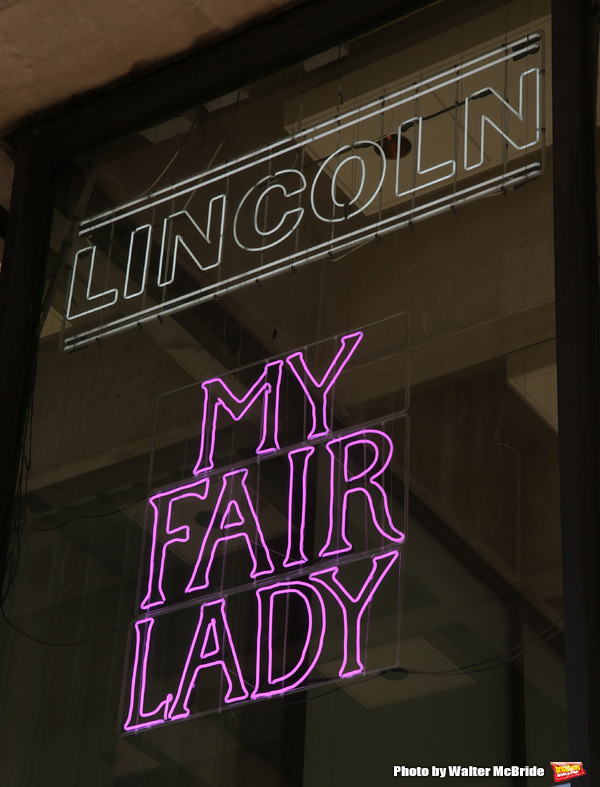 Up on the Marquee: MY FAIR LADY