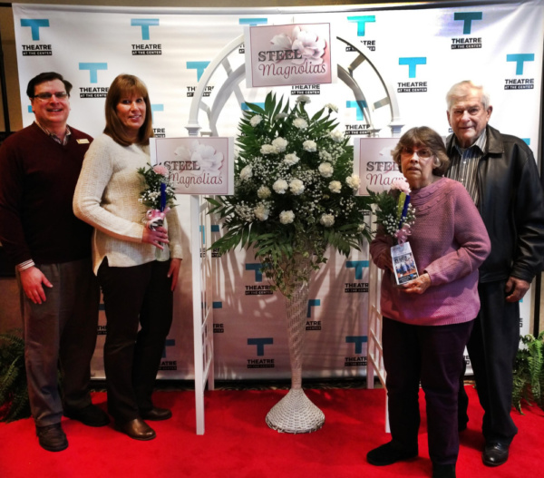 (left to right)Phil Potempa, sister Pam Robinson and parents Chester and Peggy Potemp Photo
