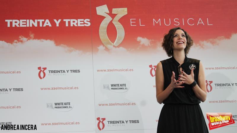 Hoy se ha presentado 33 EL MUSICAL en la Torre Espacio de Madrid