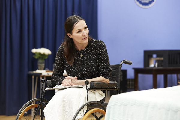 Photos: Inside Rehearsal For BROKEN GLASS at Watford Palace Theatre