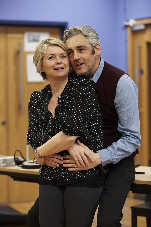 Photo Flash: Inside Rehearsal For BROKEN GLASS at Watford Palace Theatre