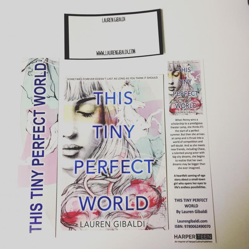 BWW Review: THIS TINY PERFECT WORLD by Lauren Gibaldi