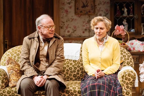 Jonathan Coy (Geoffrey) & Saskia Reeves (Katherine) Photo