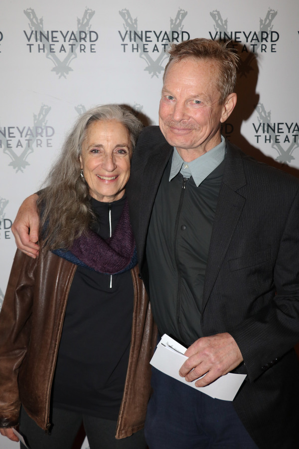 Martha Roth and Bill Irwin