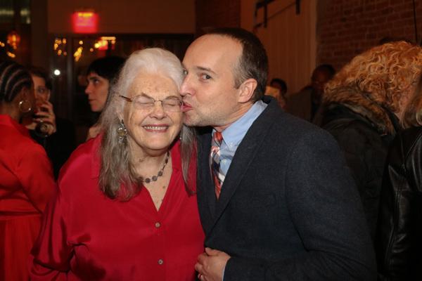 Lois Smith and Jordan Harrison