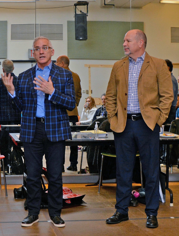 Mark S. Hoebee (Paper Mill Playhouse Producing Artistic Director), Todd Schmidt (Paper Mill Playhouse Managing Director)