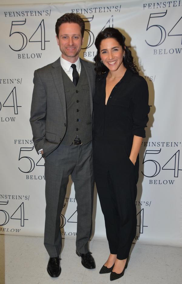 Kevin Massey and Samantha Massell