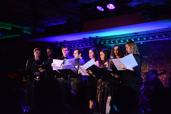 The Ensemble-Sean Konopka-White, Deirdre Donahue, Asher Dublin, Paris Alexander Nesbitt, Alexandra Frost, Ethan Larsen, Alex Hartman and Amisha Amy