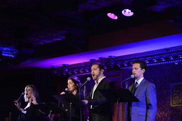Dana Costello, Samantha Massell, Ryan Speakman and Kevin Massey