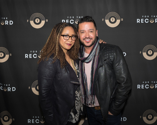 Tracie Thoms and Jai Rodriguez