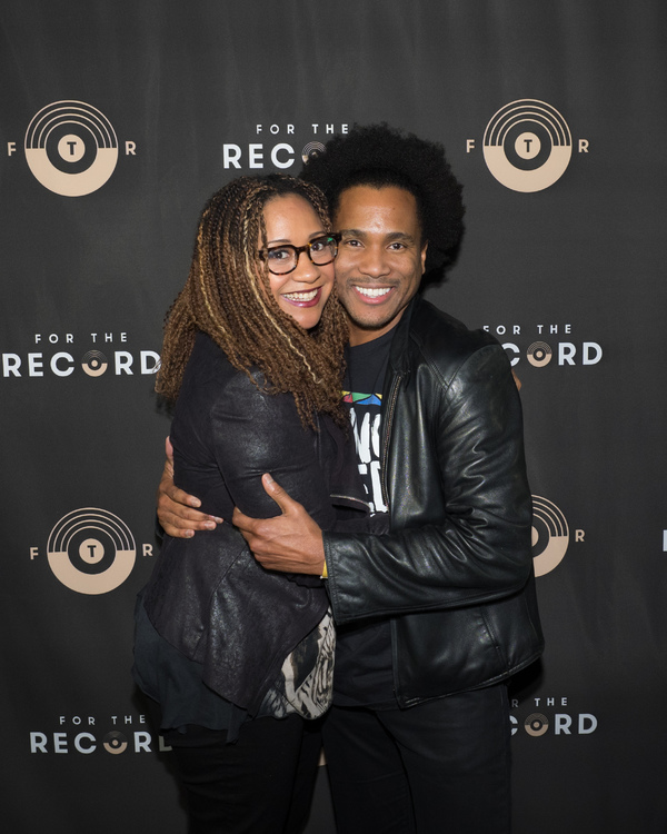 Tracie Thoms and Eric B. Anthony