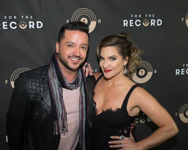 Jai Rodriguez and Shoshana Bean