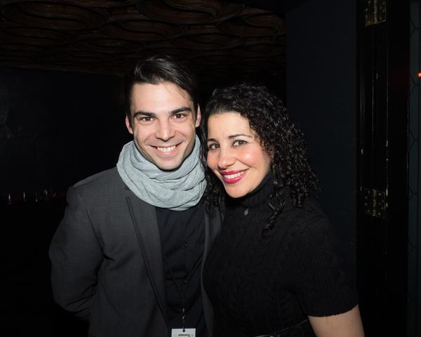 Ben Caron and Julie Garnye