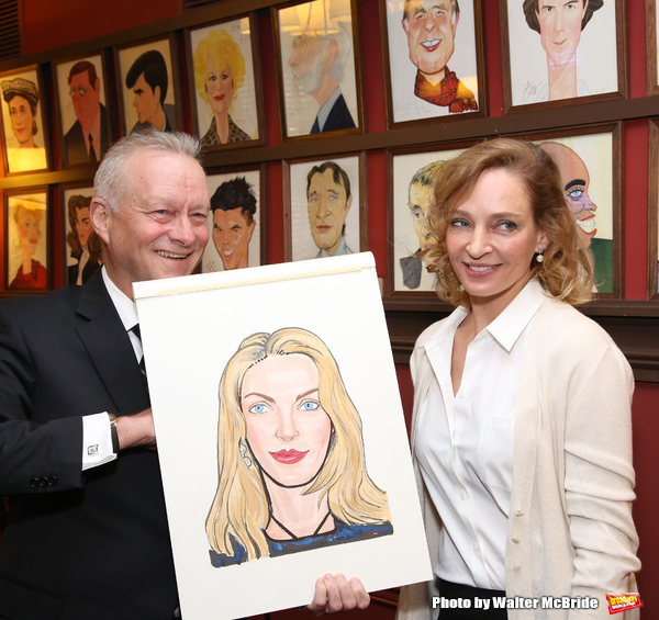 Max Klimavicius with Uma Thurman