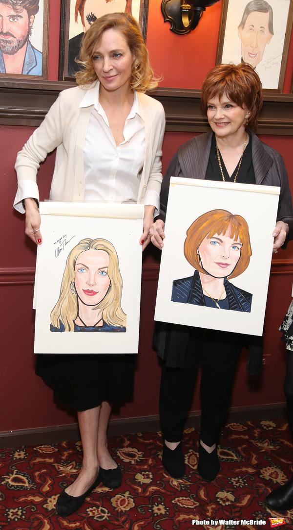 Uma Thurman and Blair Brown Photo