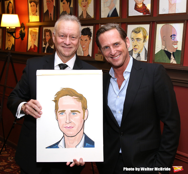 Max Klimavicius with Josh Lucas