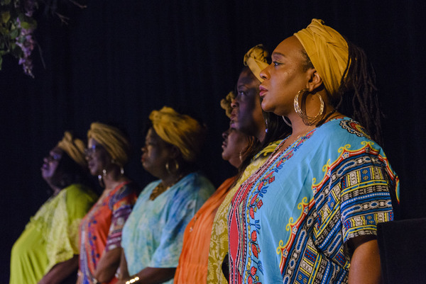 The Gospel Choir: Becky Sanders, Angela Adams, Robin Walker Shanks, Sandy Taylor Hawkins, Angela R. Gray, Kimberly A. Young