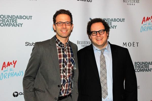 Alex Lubischer and guest