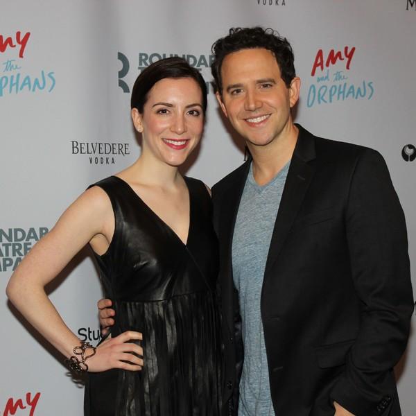Jessica Hershberg and Santino Fontanna