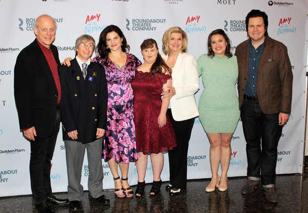 Mark Blum, Edward Barbanell, Diane Davis, Jamie Brewer, Debra Monk, Vanessa Aspillaga and Josh McDermitt