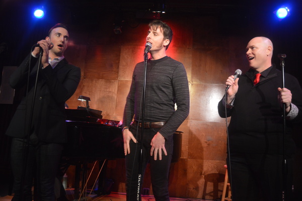 Photo Flash: LOVE NEVER DIES Cast Performs a Benefit for Broadway Cares/Equity Fights AIDS