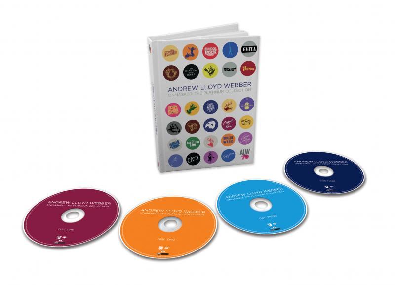 Llega el disco UNMASKED: THE PLATINUM COLLECTION, recopilatorio de Andrew Lloyd Webber