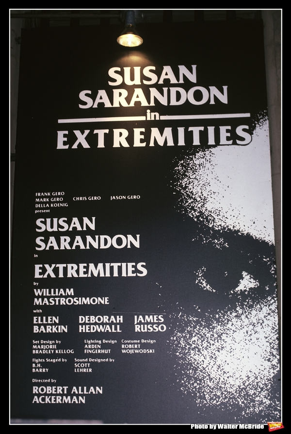 Photo Throwback: Susan Sarandon Stars in EXTREMITIES in 1983