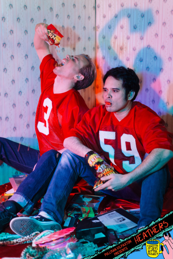 Kurt Kelly (played by Nate McVicker) and Ram Sweeney (played by M. Keala Milles, Jr.) ; image by Sofia Lee