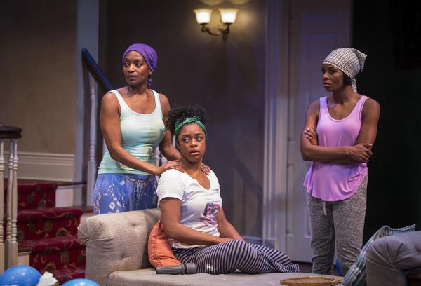 Lily Mojekwu, Ericka Ratcliff, Tamberla Perry. Photo by Liz Lauren