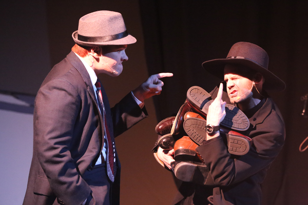 Evan Fornachon as Billy and Aaron Allen as Mooney