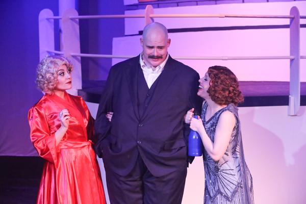Sarah Porter as Reno, Zachary Allen Farmer as Sir Evelyn Oakleigh, and Eileen Engel a Photo