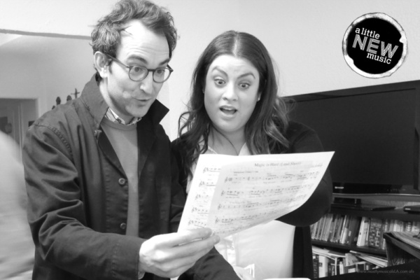 Photo Flash: Take a Look at A Little New Music in Rehearsal for Their Return to the Catalina