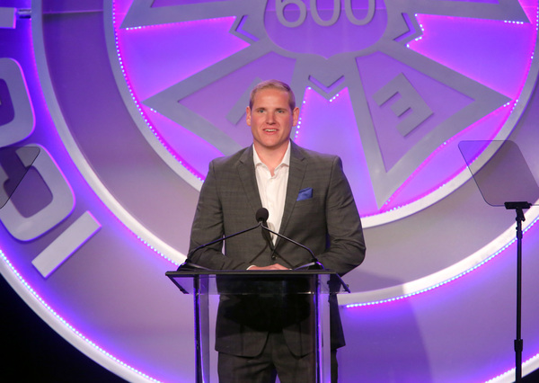 Spencer Stone presents onstage at the 55th Annual ICG Publicists Awards
