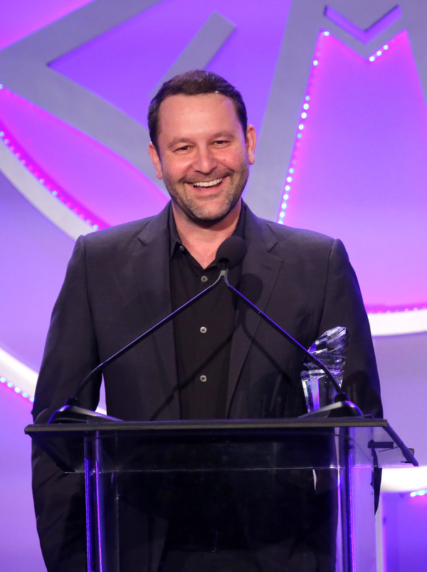 Dan Fogelman accepts Television Showman Of The Year Award onstage at the 55th Annual ICG Publicists Awards