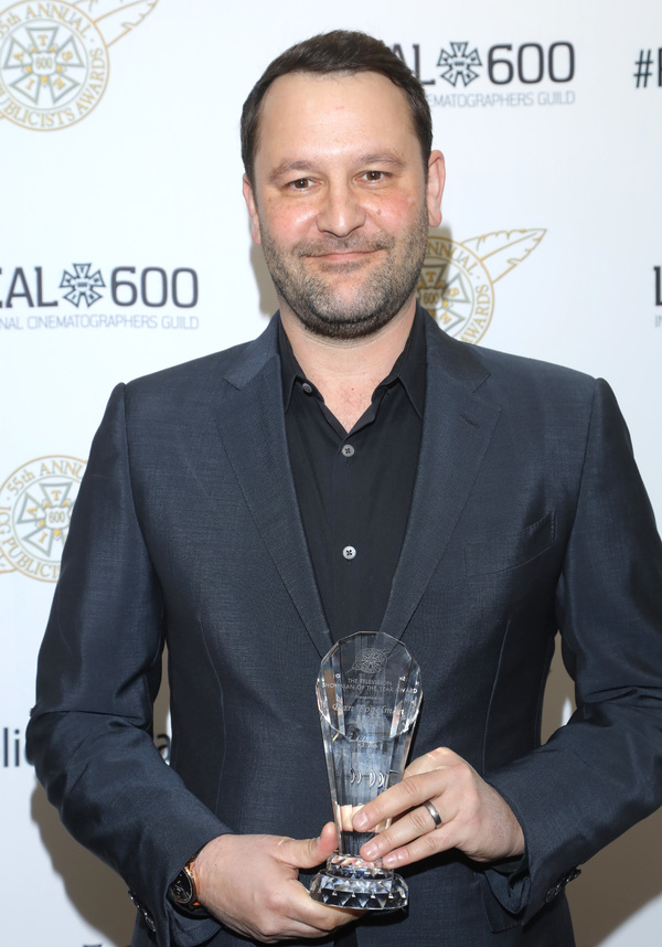 Television Showman of The Year Award winner Dan Fogelman at the 55th Annual ICG Publicists Awards