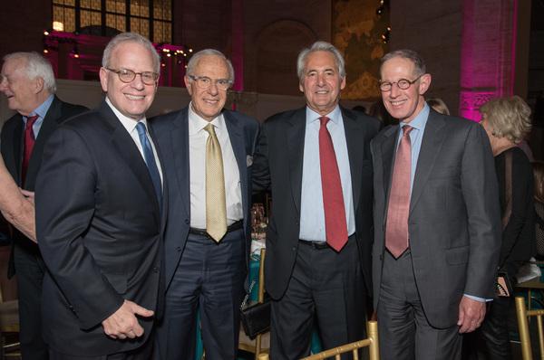 Harvey Schulweis, Jim Schreiber, Irv Rosenthal, and friend