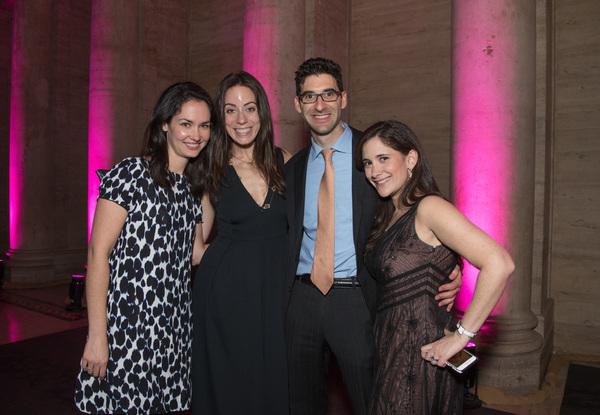 Linda Perlmutter, Alissa Dicker Schreiber, Jacob Cohen, Ashley Cohen Photo