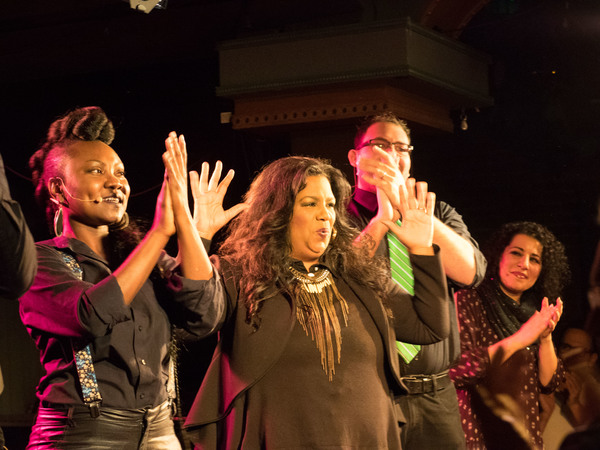 Photo Coverage: SIGNING THE SONG Starring William Martinez Returns To The Rockwell
