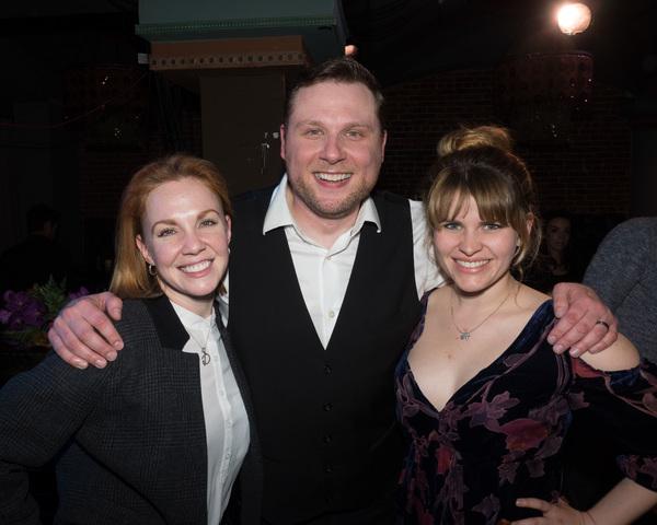 Katharine McDonough, William Martinez, and Kelley Dorney