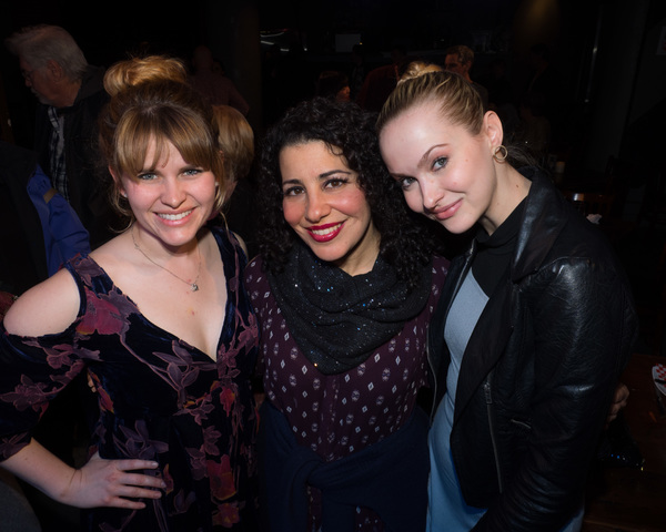 Katharine McDonough, Julie Garnye, and Maddy Claire Parks