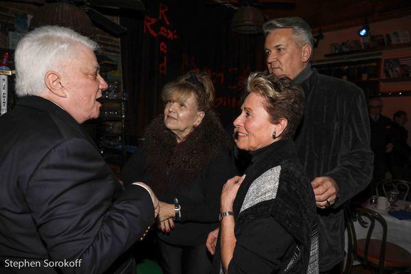 Rex Reed, Brenda Vaccaro, Lorna Dallas-Brown, Richard Hillman