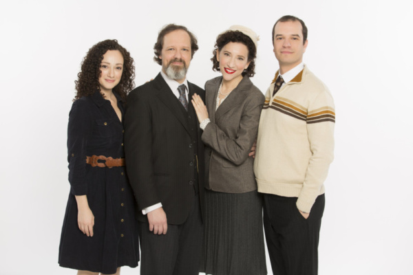 (From left to right). Megan McGinnis, Jim Stanek, Aime Bermowitz, and Aaron Galligan-Stierle.