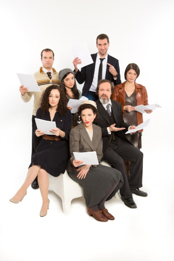 The cast of the Goldstein.