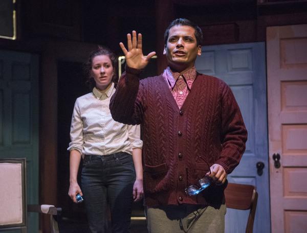 Maggie Scrantom and Esteban Andres Cruz